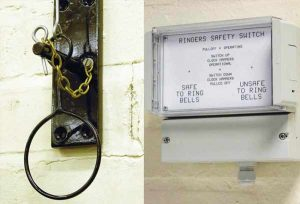 10. BELL SAFETY: vital for change ringing, our pull-o s are mechanical or electrical with night silencing.