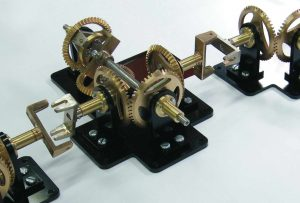 9. TRANSMISSION: links the movement to the dials, and requires regular maintenance.