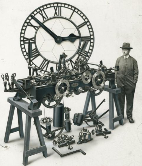 Preston Town Hall Clock