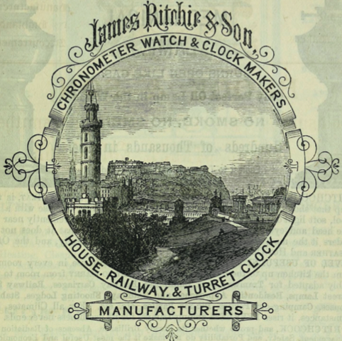 James Ritchie of Edinburgh Merger