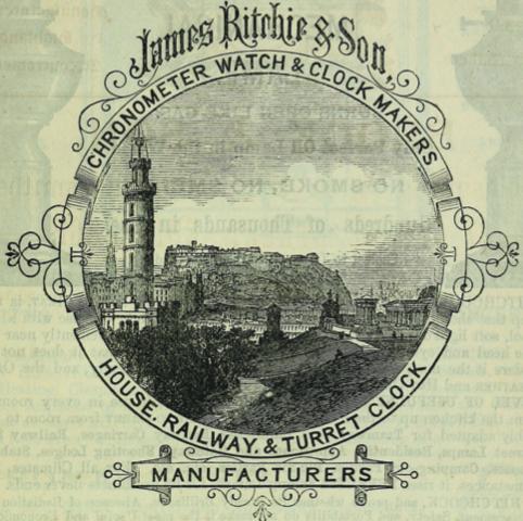 James Ritchie of Edinburgh Merger