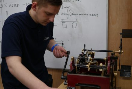 UK's first clock makers' training centre opens at Smith of Derby