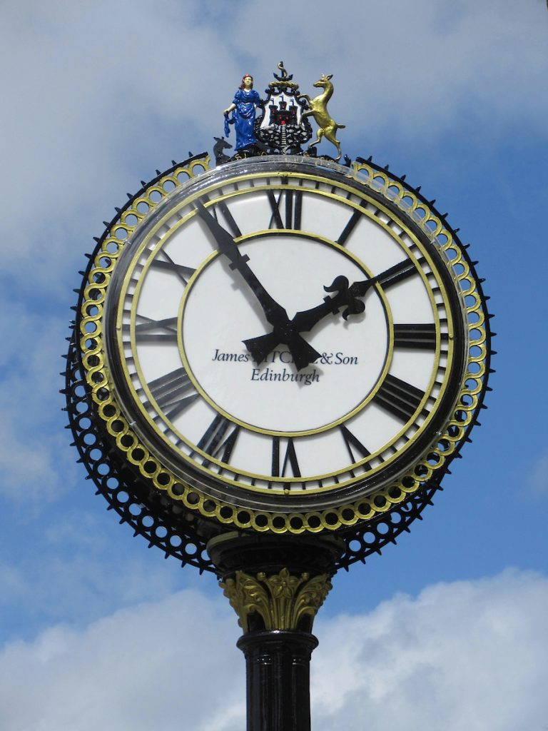 Edinburgh Morningside Clock Restoration by James Ritchie & Son Clockmakers (Edinburgh), part of Smith of Derby Ltd