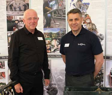 BHI Summer Show 2017, Martin Butchers & Phil Thompson Smith of Derby Clock Company