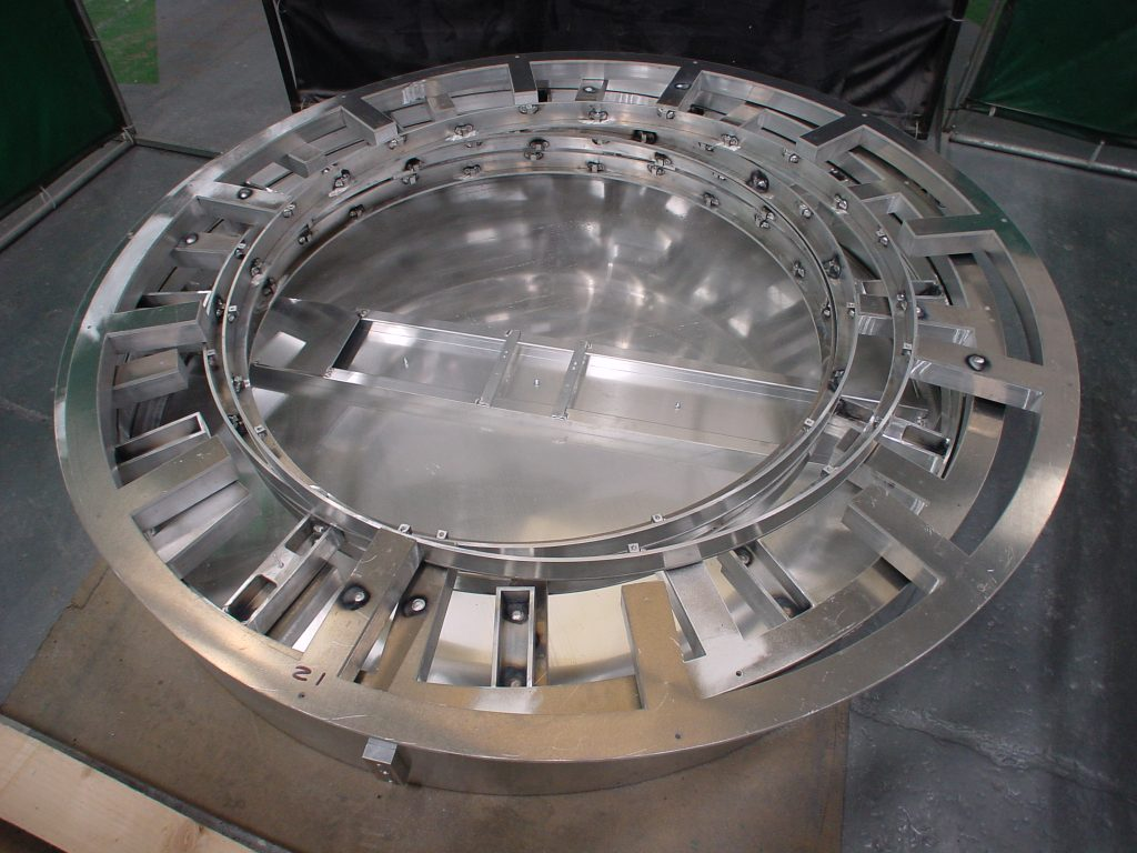 Design, manufacture and install four 1.6m diameter clock cases for 48 Leicester Square.